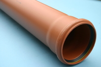 110mm ( 4 inch ) x 6 Metre Socketed Sewer Pipe