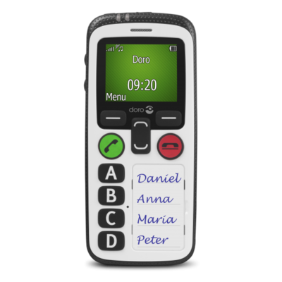 Simple mobile phone