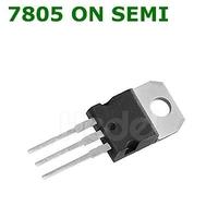7805 ON SEMI   ON SEMI ORIGINAL LINEAR VOLTAGE REGULATORS 5.0V 1.0A