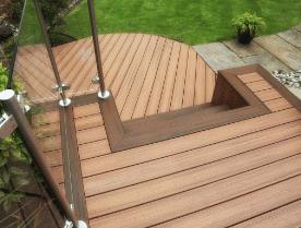 Trex Composite Decking Vs Wood Decking