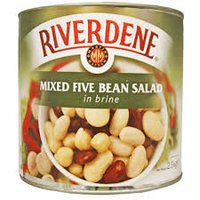 Riverdene 5 Bean Salad 6x800gr