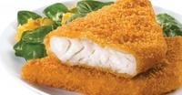 Cod Breaded Fillets  (170-200gr) 6-7oz