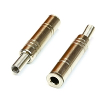 APC-1515B | 6.35MM STEREO JACK,  METAL WITH SPRING