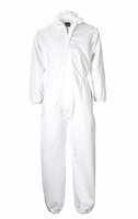 Portwest Disposable PP Coverall Protection Suit - Large White