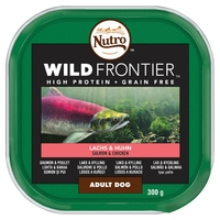Nutro Wild Frontier Ancestral Dog Trays - Salmon & Chicken in Loaf 300g x 20