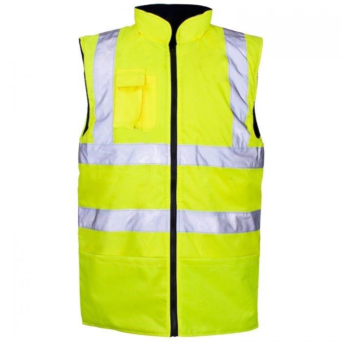 REDBACK Hi-Vis Reversible Bodywarmer Yellow or Orange