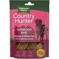Natures:Menu Country Hunter Superfood Bar Salmon & White Fish, Cranberries & Kelp 100g x 7