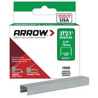 Arrow JT21 Staples 10mm 3/8'' - A276 - 5x1000
