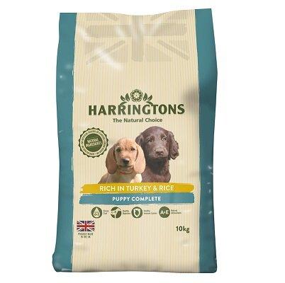 Harringtons Puppy Turkey & Rice Food 10kg