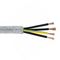 Flexible Cable Screened 4 core