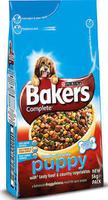 Bakers Puppy / Junior - Beef 5kg