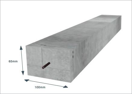 concrete lintel 100 x 65mm x 2750mm 4x3 x 9ft goodwins