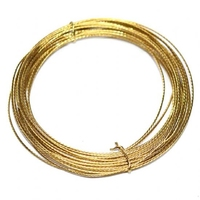 PREMIER BRASS COATED PICTURE WIRE 6MTR