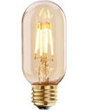 LED VINTAGE TUBULAR  DIMMABLE LAMP 240 VOLT 4 WATT ES 300 LUMEN 2000K 15000 HOUR