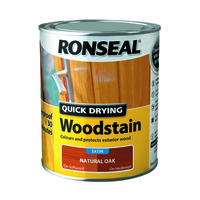 Quick Drying Woodstain 750ml Natural Oak