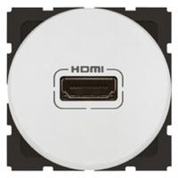 Arteor HDMI Socket Round - White    LV0501.2452