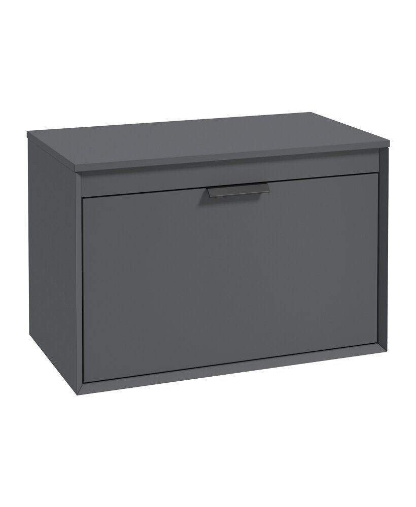FJORD 80CM UNIT WITH COUNTER TOP BLACK H