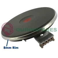 """Solid Plate Hob Element 180mm / 7"""" Inch -  2kw"""