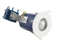 IP65 240V GU10 Fire Rated Showerlight White