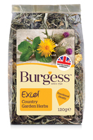 Burgess Excel Nature Snack Country Garden Herbs 120g x 5