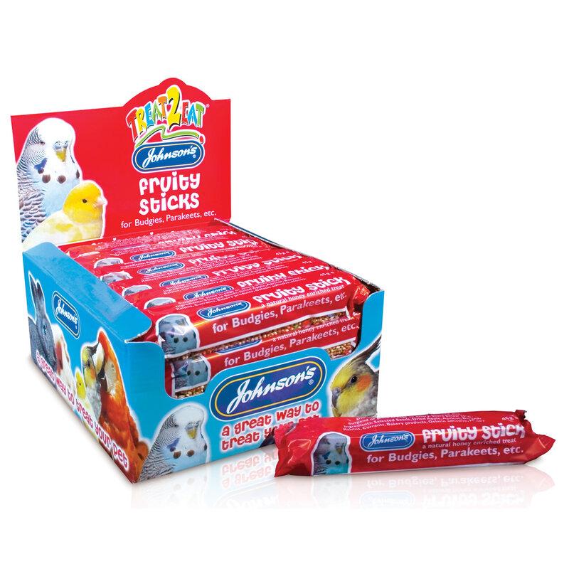 JVP Budgie Fruity Sticks x 28