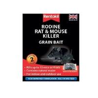 Rentokil Rodine Rat & Mouse Killer Grain Bait - 2 Sachet