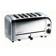 Toaster Bread Polished Proheat 6 Slot Dualit