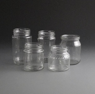 Glass Honey Jars