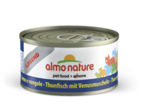 Almo Nature Legend Cat Cans - Tuna with Clams 70g x 24
