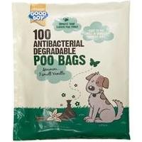 Good Boy Antibacterial Biodegradable Poo Bags 100 bags x 1