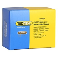 TacWise CT-60/14mm Cable Staples 1000