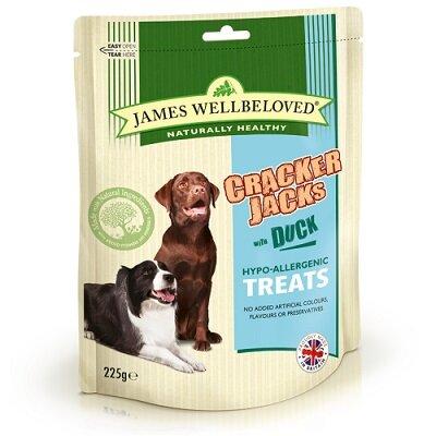 James Wellbeloved Cracker Jacks Duck 225g