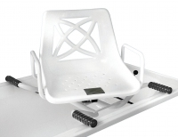Adjustable Width Swivel Bath Seat
