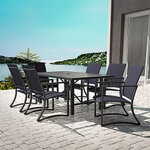 Capitol Hill Steel Patio Dining Set 1