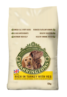 Harringtons Adult Dog - Turkey & Veg 15kg