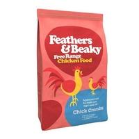 Feathers & Beaky Chick Crumb 4kg [Zero VAT]