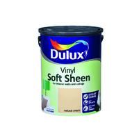 Dulux Vinyl Soft Sheen Natural Cream  5L
