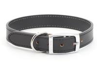 "Ancol Heritage Leather Collar Black 26"" x 1"