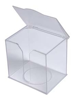 PERFECTION SERVIETTE BIBS DISPENSER CLEAR