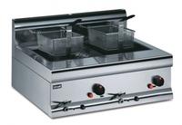 Lincat Silverlink 600 DF7/N Counter Top Twin Tank Gas Fryer