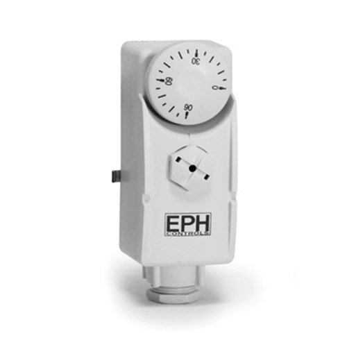 EPH Controls WRP Cylinder Pipe Thermostat