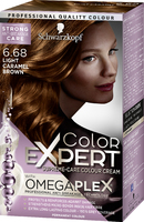 Color Expert Light Caramel Brown 6-68