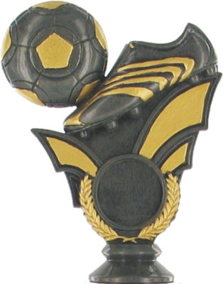 Soccer Holder 110mm  (Graphite with Gold)