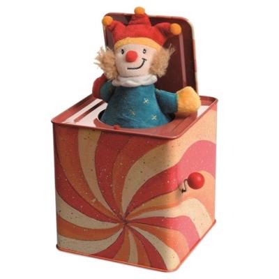 Traditional Joker Jack in the Box - open
