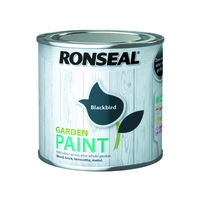 Ronseal Garden Paint 250ml Blackbird
