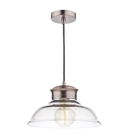 Siren 1 Light Pendant, Glass/Copper | LV1802.0097