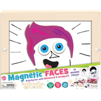 Magnetic Faces Activity Box - in packaging