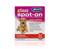 Johnson's 4-Fleas Large Dog Spot-On Drops x 1
