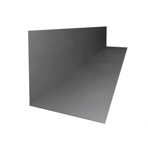 Aluminium Soaker Blue/Black 330mm