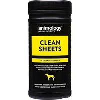 Animology Clean Sheets 80 Wipe Tub x 1